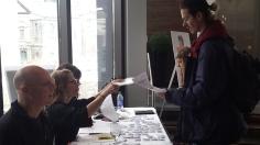 Le processus de sélection du film gagnant s'est terminé lors des délibérations nationales les 24 et 25 mars dernier où les représentants de chaque Cégep venait défendre ses opinions. Photo: Étienne Bonenfant.