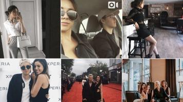 L'esthétique du compte Instagram de Noémie Lacerte est constituée de photos qui sont toujours très éclairées.