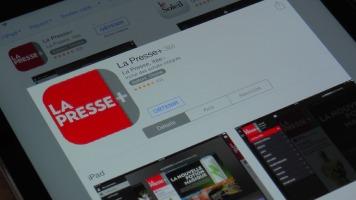 L'application gratuite de La Presse +.