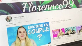 Florence Lavoie publie une vidéo sur sa chaîne Youtube.