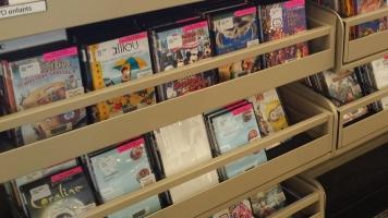 Les films et les séries télévisées sont les documents les plus empruntés à la Bibliothèque Christian-Roy de L'Assomption.