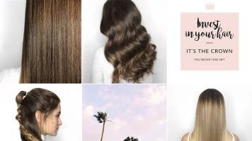 L'esthétique du compte Instagram du salon de coiffure Local B repose sur des images qui sont toujours dans des teintes pâles et claires.
