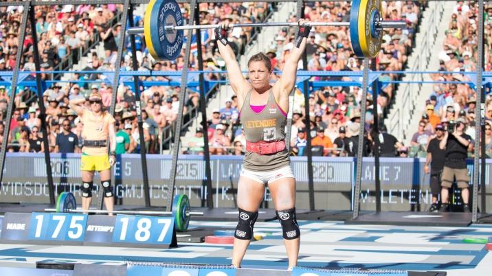 L'athlète québécoise Michèle Letendre a participé aux Crossfitgames six années compétitives.