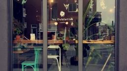Sophie Bienvenue et Matthieu Simard se sont rencontrés dans un café de Rosemont pour parler de leur expérience d'adaptation.