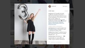 La blogueuse Sarah Couture célèbre les trois ans de son blog Les trouvailles de Sarah et partage sa joie avec ses 84 000 abonnés Instagram.
