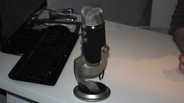 Le microphone utilisé pour filmer les vidéos de William Nadon.