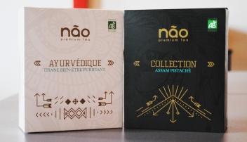 Les thés Não tiennent 3 collections de variétés différentes en plus d'une sélection éditions limitées.