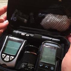 La machine la glycémie est un outil primordial pour les diabétiques afin d'assurer un bon contrôle de leur taux de sucre. Photo:Ariane Lévesque.