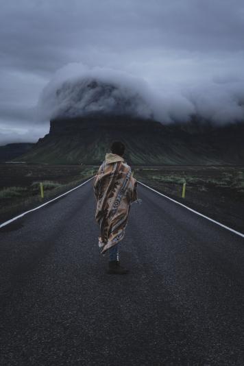 L'Islande, c'est ça; du vent, des montagnes et des nuages. Voilà une belle composition des trois éléments de base pour un périple réussi.