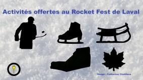 Les activités offertes au Rocket Fest de Laval